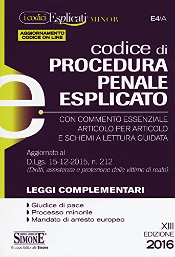 Codice di procedura penale esplicato. Ediz. minore. Con aggiornamento online