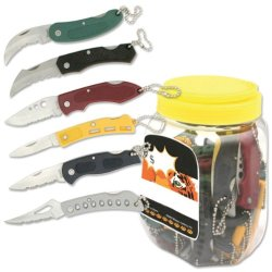 Bladesusa Yk-60As Assorted Knives In Pop Jar 5-Inch Overall