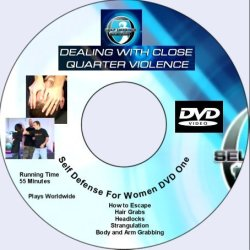Women'S Self Defense 3 Dvds Anti Rape Techniques, Defend Close Up Assaults, Pepper Spray Use, Escape A Knife Attack - Three Dvds Of Personal Protection For Women