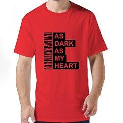Ideal As Dark As Heart Mens T-Shirt