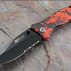 Mtech Usa Mt-568Rc Rescue Folding Knife 4.5-Inch Closed