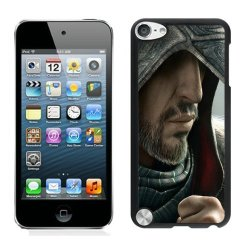 Diy Assassins Creed Desmond Miles Hood Face Knife Beard Fur Ipod Touch 5Th Generation Black Phone Case