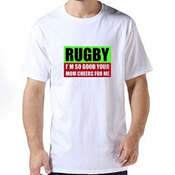 Funny Rugby 001 Men T Shirt