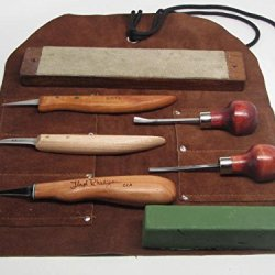 8Pc Wood Carving Knives R. Murphy Butz Floyd Rhadigan Ramelson Strop Compound
