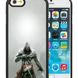 Diy Assassins Creed Knifes Hood Look Fur Iphone 6 4.7 Inch Black Phone Case