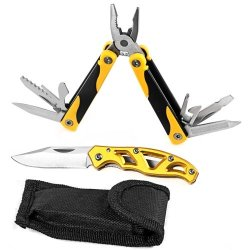 Tradespro Trades Pro 837499 Multi-Tool And Folding Knife, 2 Piece Set