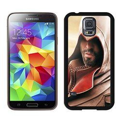 Diy Assassins Creed Desmond Miles Hood Beard Arm Hand Knife Samsung Galaxy S5 I9500 Black Phone Case