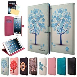 Apple-iPad-Mini-4-Case-INNOVAA-Premium-Leather-Wallet-Case-with-STAND-Flip-Cover-W-Touch-Screen-Stylus-Pen