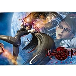 A Wide Variety Of Bayonetta Game Characters Desk & Mouse Pad Table Play Mat (Bayonetta 11)