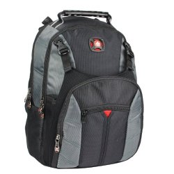 Ultimate Swissgear The Sherpa Laptop Notebook Computer Backpack - Red/Black