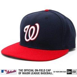 Washington Nationals Mlb Authentic Baseball Cap 7-3/8 Osfa - Like New
