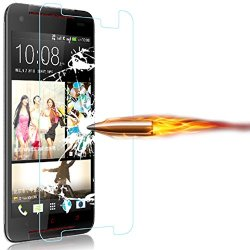 Coromose 9H Tempered Glass Film Screen Protector For Htc Butterfly 2 B810X