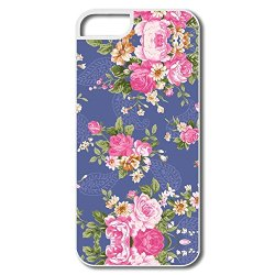 Charming Flower Pc Funny Cover For Iphone 5/5S