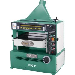 Grizzly G9741 Extreme-Duty Planer, 24-Inch