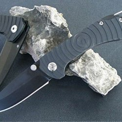 Outdoor Survival Camping Stainless Steel Folding Blade Knife Glbyam-6.88''