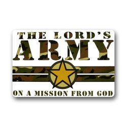 Jdsitem Creative Quotes Army Camouflage Camo Design Fashion 23.6 Inch By 15.7 Inch Doormat Door Mat / Pad