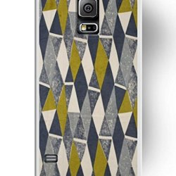 Phone Case For Samsung Galaxy S5, Ukase Easy Snape-On Cover Cases With Stylish Design Of Retro Geometric Pattern