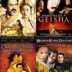 Asian Cinema 4-Pack (Curse Of The Golden Flower / Memoirs Of A Geisha / Crouching Tiger Hidden Dragon / House Of Flying Daggers)