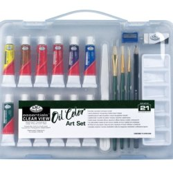 Royal & Langnickel Essentials Clear View Oil Painting Set, Small
