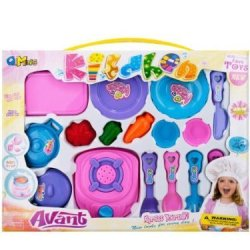 Bulk Buys Deluxe Cooking Play Set (16-Piece)
