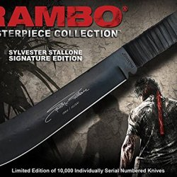 Rambo Iv Knife: Sylvester Stallone Edition