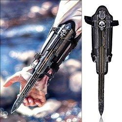 Yinwen220Us Assassin'S Creed Black Flag Edward Kenway Gauntlet Replica Hidden Blade Cosplay