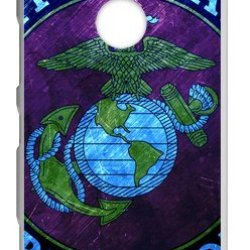 Lilichen Cool Design Forever Collectible Usmc Marine Corps Case Cover For Nokia Lumia 1520 (Laser Technology) -- Desgin By Lilichen