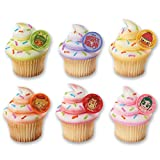 DecoPac Wreck it Ralph and Racers Cupcake Rings (12 Count)