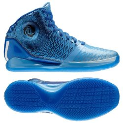 "Adidas Men'S Derrick Rose 3.5 ""Triple Blue"" Basketball Shoes-Joy Blue/White/Satellite-10.5"