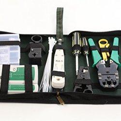 Aim Tech 12 In 1 Professional Network Computer Maintenance Repair Tools Kit(Aimt1401)
