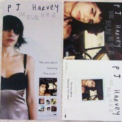 Pj Harvey - Uh Huh Her - Two Sided Poster - Rare - New - Polly Jean Harvey - Shame - Pocket Knife - The Letter - The Desperate Kingdom Of Love - P.J. - P J