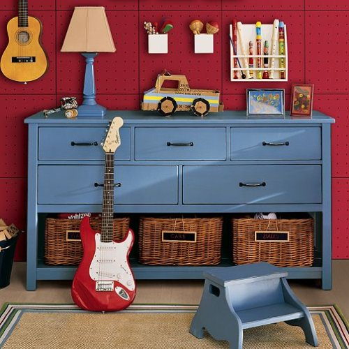 Image of Pottery Barn Kids Camp Extra-Wide Dresser (B0013HZMV6)