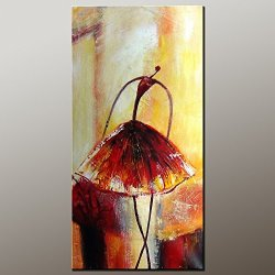 Original Painting Oil Painting Modern Art Ballet Dancer Painting Contemporary Artwork Canvas Art Impasto Texture Palette Knife Oil Painting Impressionism Wall Art Canvas Painting