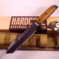 Hardcore Hardware Australia Bfk01-G Big Dog Survival Knife Coyote G-10