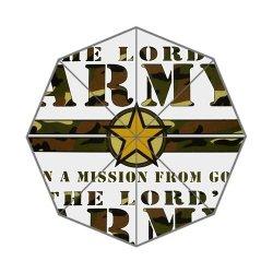 Jdsitem Creative Quotes Army Camouflage Camo Design Auto Automatic Folding Foldable Open Close Umbrella