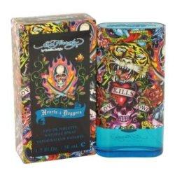Ed Hardy Hearts And Daggers Eau De Toilette Spray - 1.7 Oz