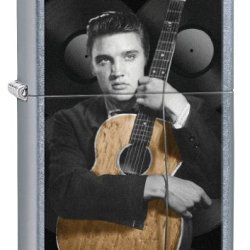 Zippo Elvis Guitar Pocket Lighter