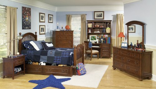 Image of 490 American Spirit Low Post Bedroom Set by Legacy Classic Kids (B0030NO1WW)