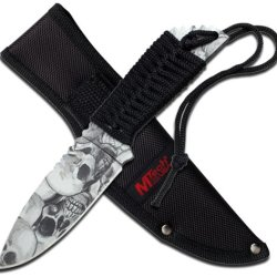 Mtech Usa Mt-610Gy Fixed Blade Knife 8.5-Inch Overall