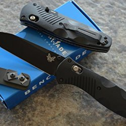 Benchmade 583Bk Barrage Assisted Opening Knife With Free Benchmade Sharpener