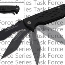 "P-223-Bbk 8.5"" Black ""Task-Force"" Kdslz8Fx Military Style ""Tactical"" Action Paetw Folder Folding Knife Edge Sharp Steel Ytkbio Tikos567 Bgf 8.5"" Black ""Task-Force"" Military Style ""Tactical"" Action Folder. High Quality Tactical Folding Knife . 1065 Surgica"