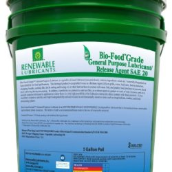 Renewable Lubricants Bio-Food Grade Sae 20 General Purpose Lubricant, 5 Gallon Pail