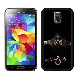 Diy Assassins Creed Desmond Miles Hands Knifes Hood Samsung Galaxy S5 I9500 Black Phone Case