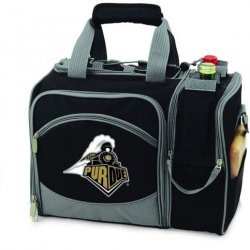 Purdue Boilermakers Malibu Insulated Picnic Shoulder Pack/Bag - Hunter Green W/Embroidery