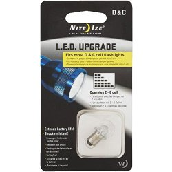 Nite Ize Lrb-07-Pr Led Bulb Upgrade/Replacement For Most C/D-Battery Flashlights
