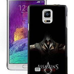 Diy Assassins Creed Desmond Miles Hands Knifes Hoodsamsung Galaxy Note 4Black Phone Case