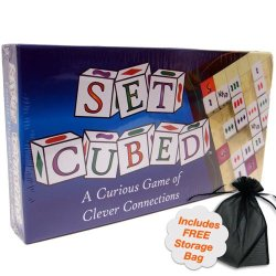 Set Cubed Game With Free Storage Bag