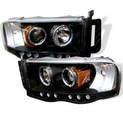 Spyder Auto 444-Dr02-Hl-Bk Projector Headlight