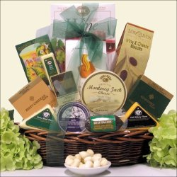 A Note Of Thanks: Gourmet Cheese Gift Basket