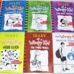 Diary Of A Wimpy Kid Collection 10 Book Set
